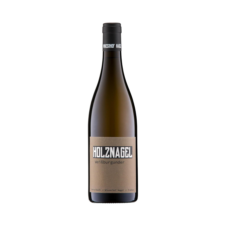Holznagel Weißburgunder Weißwein Winzerhof Nagel