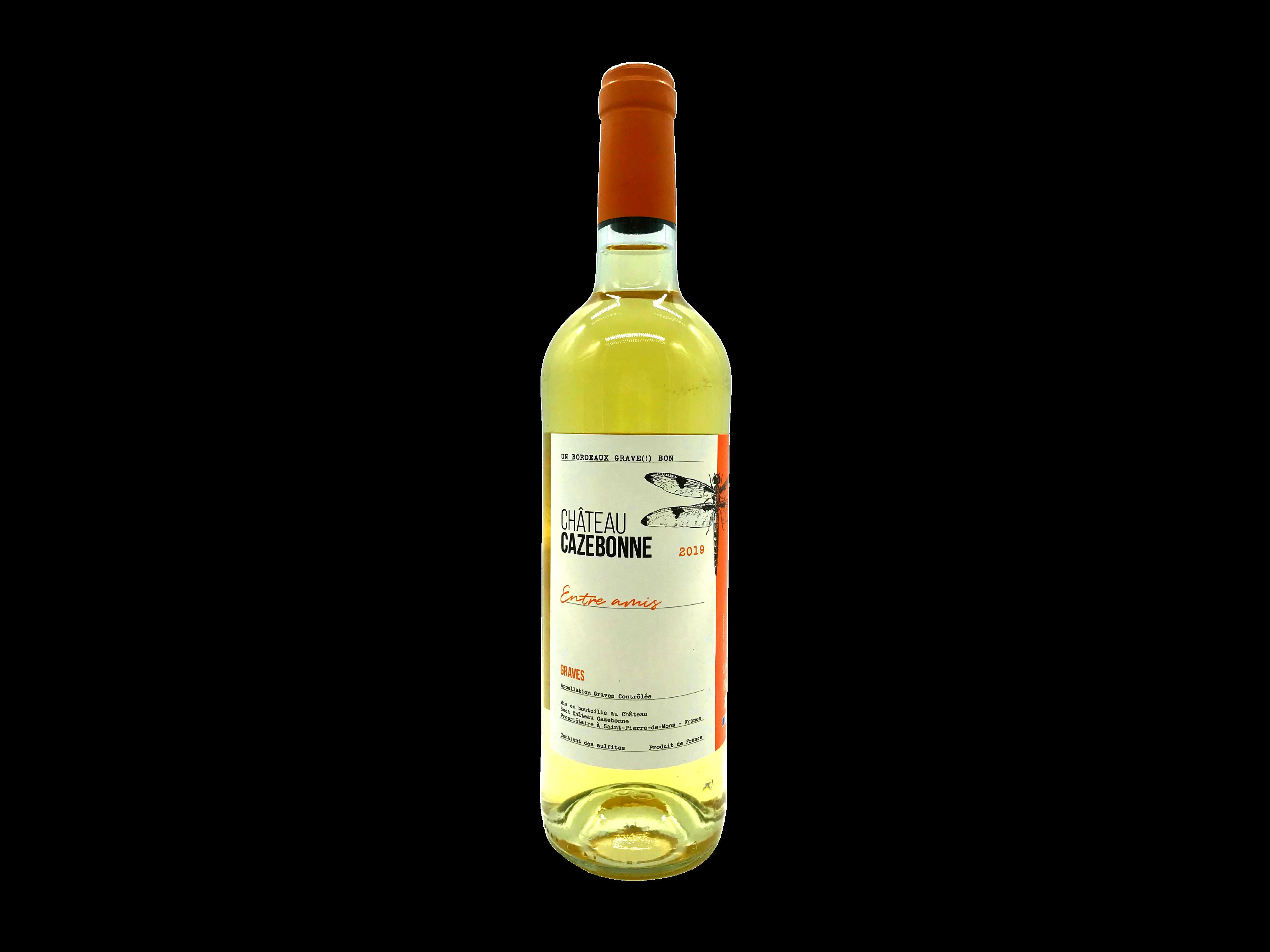 Entre Amis Weißwein Chateau Cazebonne
