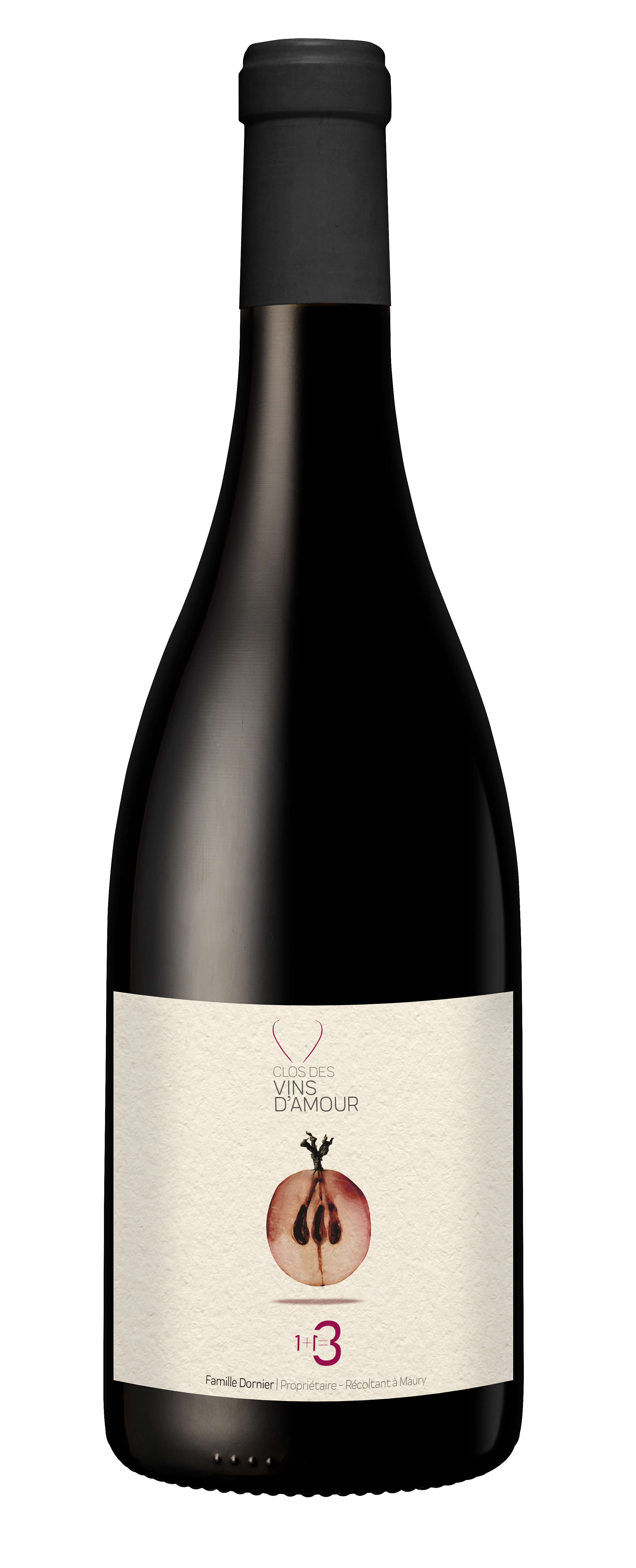 1+1=3 Rotwein Clos des Vins d'Amour