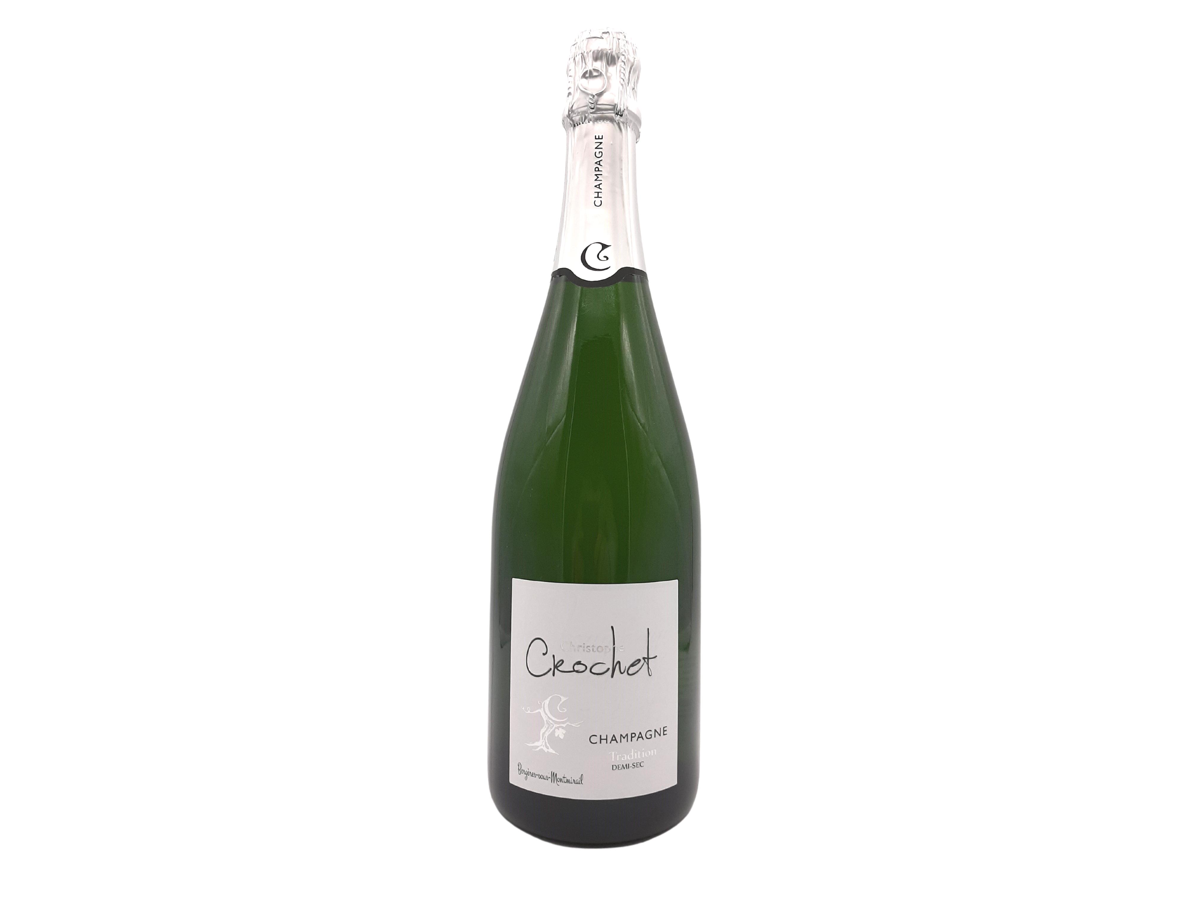 Brut Tradition halbtrocken Champagner Christophe Crochet