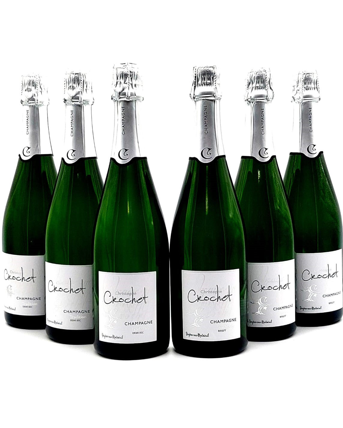3+2=6 Champagner